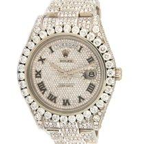 Rolex Day-Date II White gold 41mm Silver Roman numerals United States of America, Virginia, Vienna