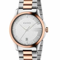 Gucci G-Timeless Сталь 38mm Cеребро Без цифр