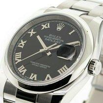 Rolex Datejust Steel 36mm Black United States of America, Georgia, Atlanta