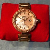 Omega 425.65.34.20.55.001 Or rose 2012 De Ville Ladymatic 34mm occasion
