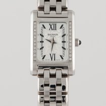 Balmain Steel Quartz 322.3215.33.12 new
