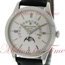 Patek Philippe Perpetual Calendar Platinum 39.5mm Silver No numerals United States of America, New York, New York