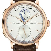 A. Lange & Söhne Saxonia Rose gold 40mm Silver United States of America, New York, Airmont