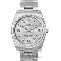 Rolex Perpetual 34 Silver/Steel 34mm - 114200