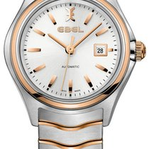 Ebel Wave Gold/Steel 30mm Silver United States of America, New York, Airmont