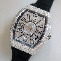 Franck Muller Vanguard V 45 SC DT Diamonds Watch