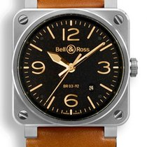 Bell & Ross Steel 42mm Automatic BR0392-ST-G-HE/SCA new