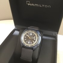 Hamilton H80495845 Aluminum 2015 Khaki Pilot Pioneer 41mm new