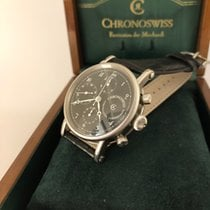 Chronoswiss Chronometer Chronograph CH7523CD Meget god Stål 38mm Automatisk