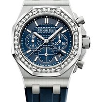 Audemars Piguet Royal Oak Offshore Lady Steel 37mm Blue No numerals United States of America, New York, New York