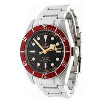 """Tudor Heritage Black Bay """"Red Bezel"""" with 3 Bracelets"""