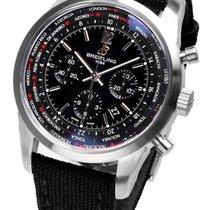 Breitling neu Automatik Kleine Sekunde Leuchtzeiger Chronometer Leuchtindizes 46mm Stahl Saphirglas
