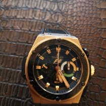 Hublot Yellow gold Automatic 48mm pre-owned King Power