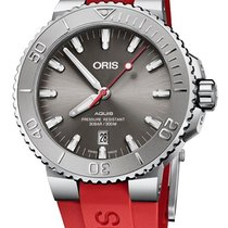 Oris Aquis Date Steel 43.5mm Grey No numerals United States of America, Texas, FRISCO