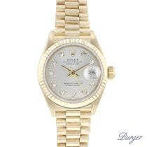 Rolex 69178 Or jaune 1986 Lady-Datejust 26mm occasion