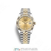 Rolex Gold/Steel 36mm Automatic M126233-0017 new