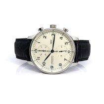 IWC Portuguese Chronograph Otel 41mm Argint