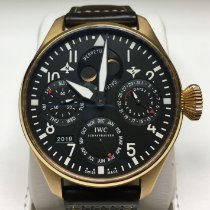 IWC Red gold Automatic Black Arabic numerals 46mm pre-owned Big Pilot