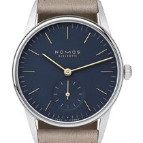 NOMOS Orion 33 new Manual winding Watch with original box and original papers 330