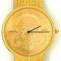 Corum Coin Watch Yellow gold 36mm Gold No numerals United States of America, California, Irvine