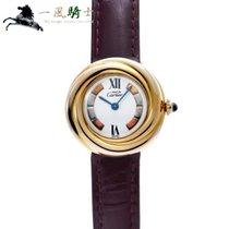 까르띠에 은 쿼츠 흰색 27mm 중고시계