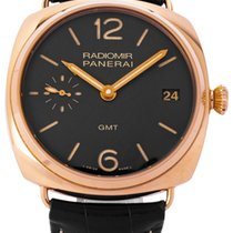 Panerai Radiomir 3 Days GMT Ouro rosa 47mm