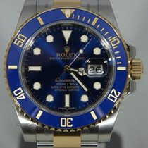 Rolex Submariner Steel/Gold 116613LB NEW Sunburst Dial