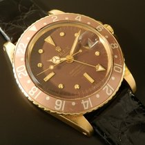 Rolex GMT-MASTER Ref.1675/8 18K SOLID GOLD 2'nd stage Dail Nipple