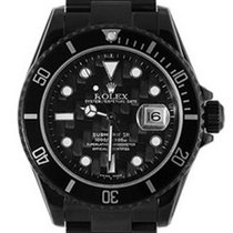 Rolex Used 16600_pvd Oyster Perpetual Submariner Date - Black...