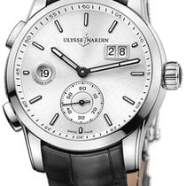 Ulysse Nardin Dual Time Steel Silver United States of America, New York, Brooklyn