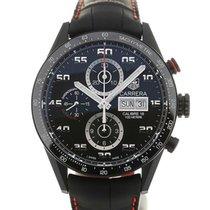 TAG Heuer Carrera 43 Black Chronograph Calibre 16