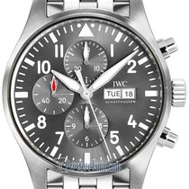 IWC Pilot Spitfire Chronograph new 2021 Automatic Chronograph Watch with original box iw377719