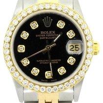 Rolex Lady-Datejust Gold/Steel 31mm Black United States of America, New York, NewYork