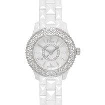 Dior VIII White Ceramic Diamond Ladies Watch – CD1221E4C001