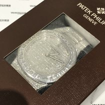 Patek Philippe Nautilus Full Diamond White Gold - 5719/10G-010