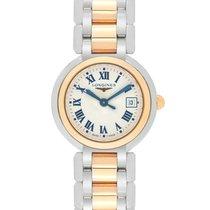 Longines PrimaLuna Quartz Steel/Gold Ladies Watch – L8.110.5.78.6