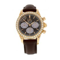 Omega Deville Co-Axial Chronograph 18k Rose Gold 422.58.35.50....