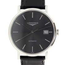 Longines Elegant Stainless Steel Black Automatic L4.810.4.72.2