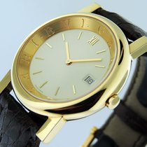 Bulgari Yellow gold Quartz 35mm pre-owned Bulgari