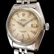 Rolex Red Datejust 6305/1 Ovettone Bubble Back OCC Swiss Brevet +