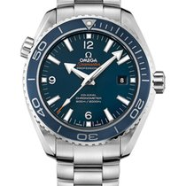 Omega 232.90.46.21.03.001 Steel 2019 Seamaster Planet Ocean 45.5mm new
