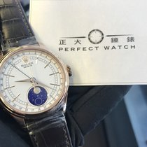 勞力士 Cellini Moonphase 玫瑰金 39mm 白色 香港, TSIM SHA TSUI, KOWLOON