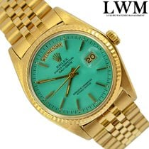 Rolex Day-Date President 1803 Green Aquamarine Stella dial 1974