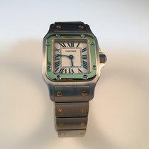 Cartier Santos Galbée usados 24mm Acero y oro