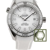 Omega Seamaster Planet Ocean 600M Co-Axial 42 mm White Dial...