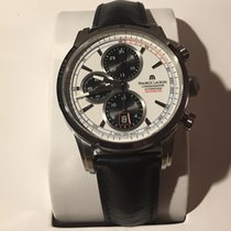 Maurice Lacroix Pontos Chronographe Rétro tweedehands 43mm Staal