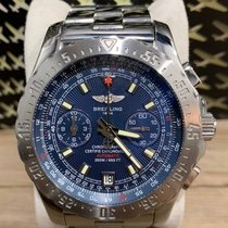 Breitling Chronograph 43,5mm Automatic pre-owned Skyracer Silver