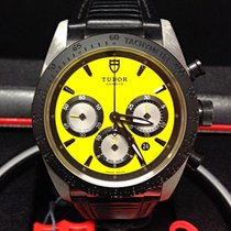 Tudor Fastrider Chrono 42mm Yellow Dial - Box & Papers 2015