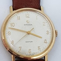 Omega Vintage Century Rare Dial 34 mm G.F. 18kt Cal 601 Year 1966