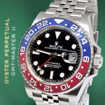 "Rolex NEW GMT-Master II Steel & Ceramic ""Pepsi"" Watch Box &..."